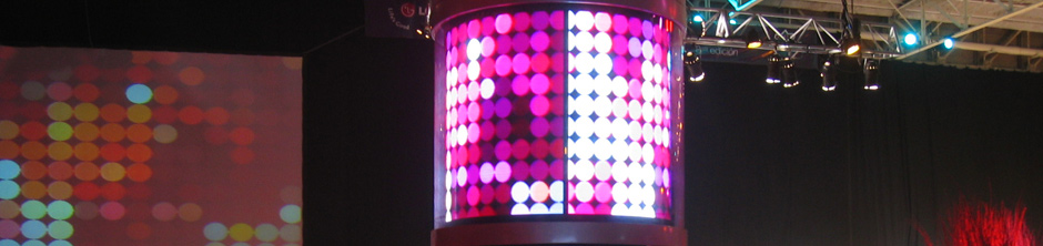 Pantallas LED Circulares